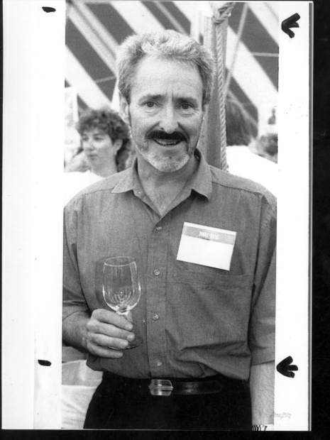 """Gary Plumley, founder of Aspen's """"of Grape and Grain"""" and the Aspen/Snowmass International Wine Classic. He has been to most of 'em."""