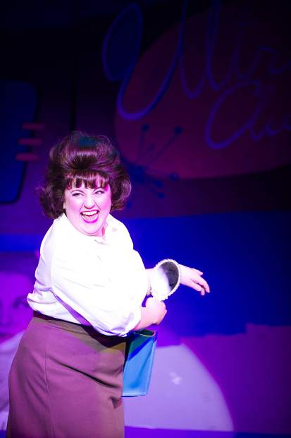 Taylor Hartsfield playing Tracy Turnblad in the Aspen Theatre production of Hairspray at their dress rehearsal June 23.
