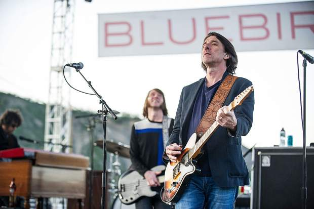 The Drive By Truckers performing at the Bluebird Art and Sound concert in Snowmass Friday evening.