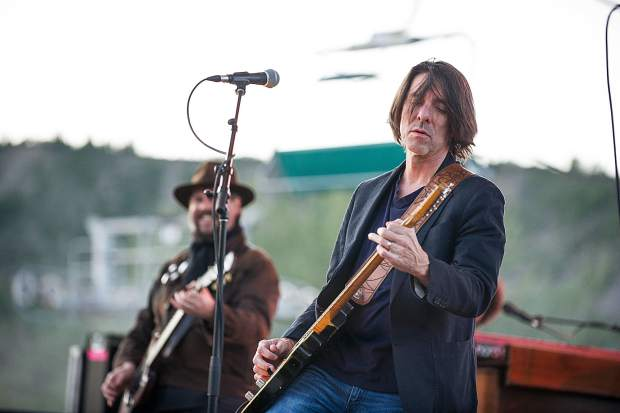 The Drive-By Truckers' guitarist, banjo player and lead vocalist Mike Cooley.