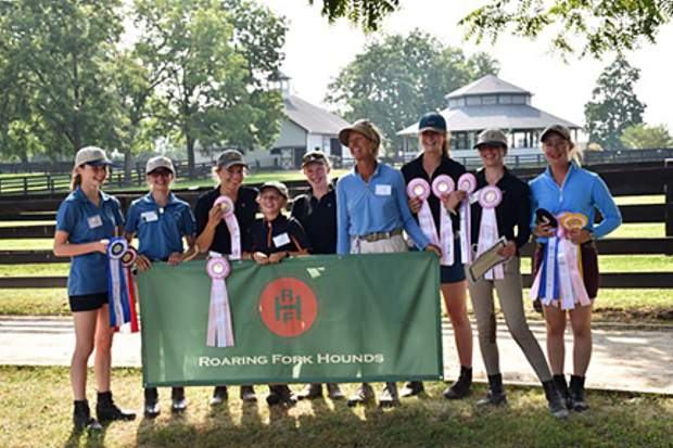 Bridget Strang and RFH Pony Club won fifth place in National Pony Club Finals at Kentucky.