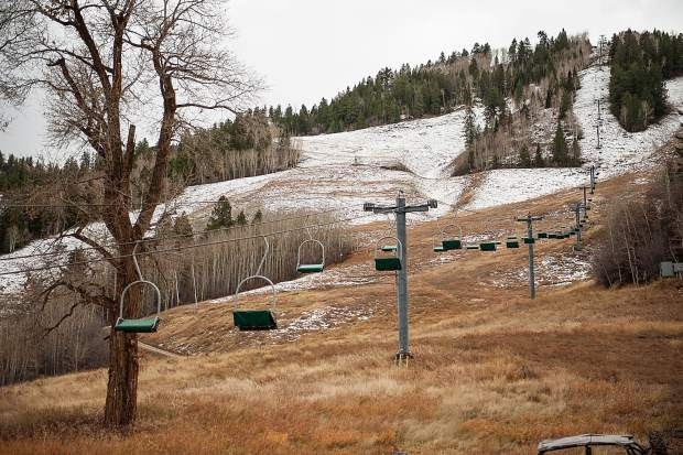 Aspen Mountain's Lift 1A is a double-chair that is going to be replaced on the west side of the mountain. A study released Friday looks at the best options to extend the lift downhill closer to Dean Street.
