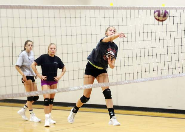 Basalt High volleyball optimistic despite a youthful roster