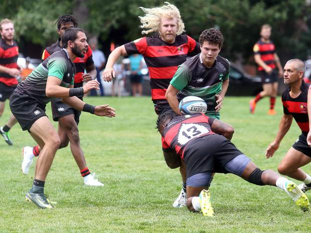 Aspen rugby vs. Grand Junction on Saturday, Aug. 4, 2018. (Photo by Austin Colbert/The Aspen Times).