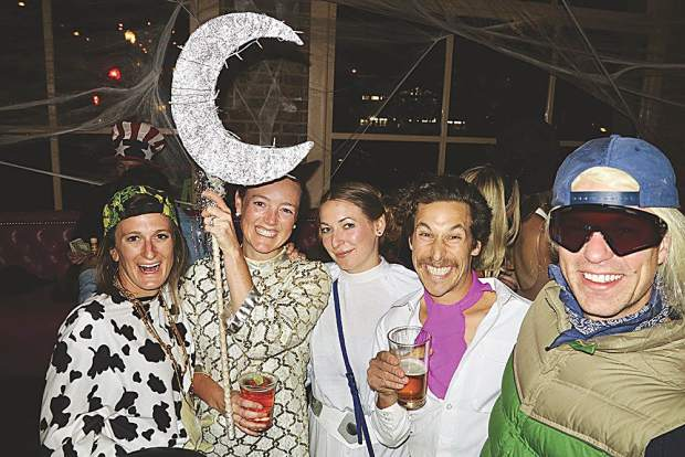 The cow jumped over the moon and a few of its friends like Princess Leia and Benny the Blade.
