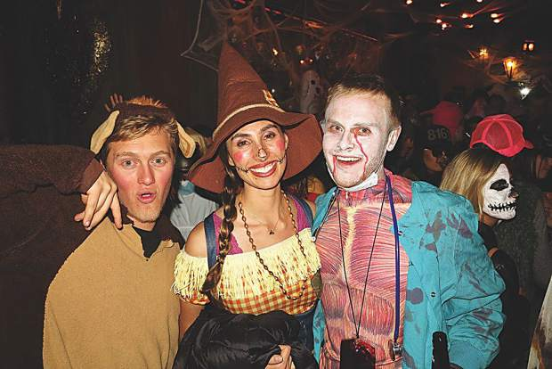 A bear, a scarecrow and one scary doctor in the mix at Mi Chola.