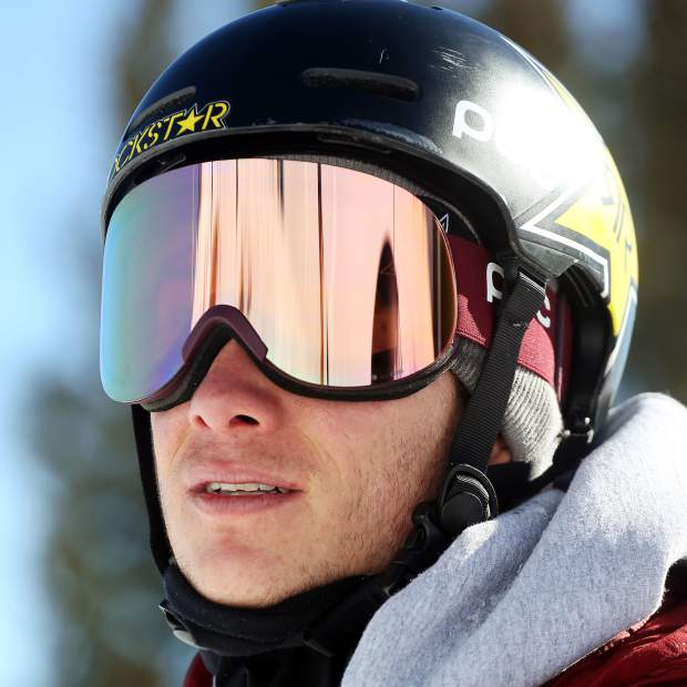 Olympic silver medalist halfpipe skier and Aspen native Alex Ferreira at Aspen Highlands on Friday, Jan. 4, 2019. (Photo by Austin Colbert/The Aspen Times)