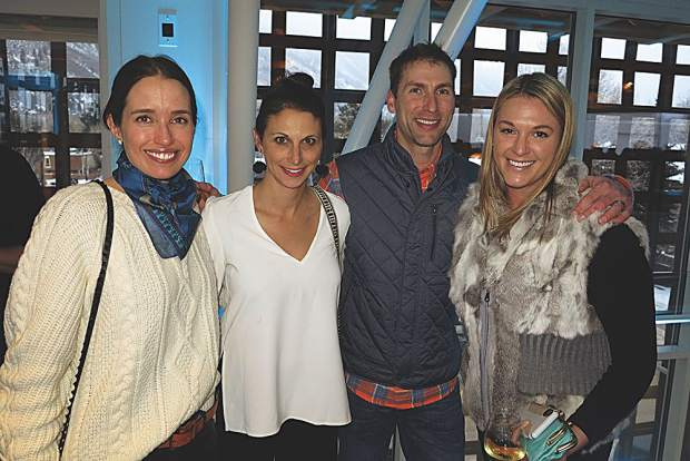 Etta Meyer and Christine Benedetti with Jeremy Lipman and Bree LaLonde.