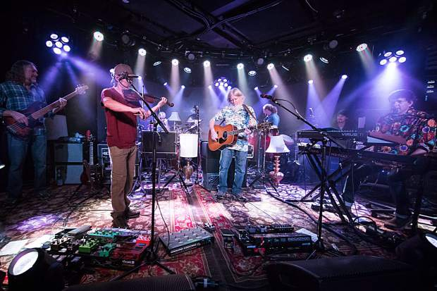 The String Cheese Incident photographed at Belly Up in 2017. The band will return to Belly Up on Friday and will headline The Apres at Buttermilk on Saturday and Sunday.