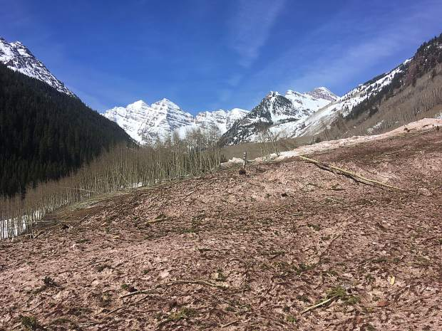 Forest Service: Opening of Maroon Lake facilities will be