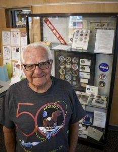 Rifle resident and former Kennedy Space Center engineer Tom Collins commemorates his space program career on 50th anniversary of Apollo 11