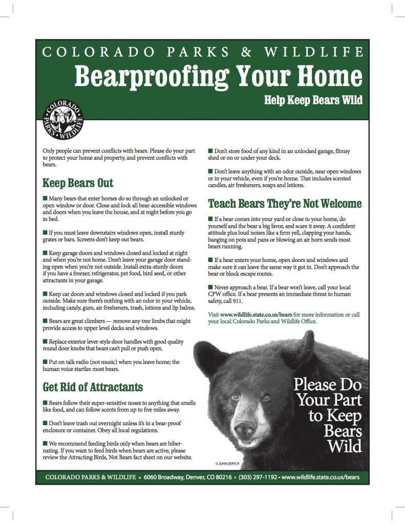 State wildlife officials frustrated over bear conflicts in Aspen, Snowmass Village areas