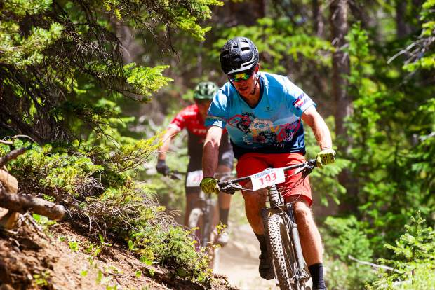 Nathan De Graaf plans to ride the Breck Epic in honor of his late friend Eric Dube.