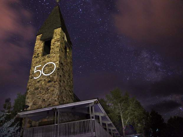 The Aspen Chapel is celebrating its 50th anniversary and this weekend there are a number of events to mark the milestone.