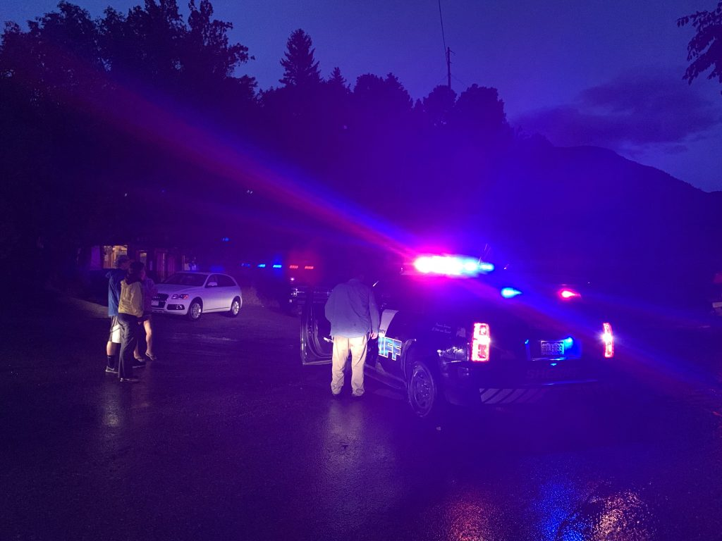 Road closures around Basalt remained into Sunday evening because of flash flooding concerns.