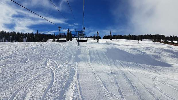 The Big Burn Lift at Snowmass serves groomers and powder skiing on the intermediate slopes of the ski area. Aspen Skiing Co. wants to replace the 33-year-old lift.