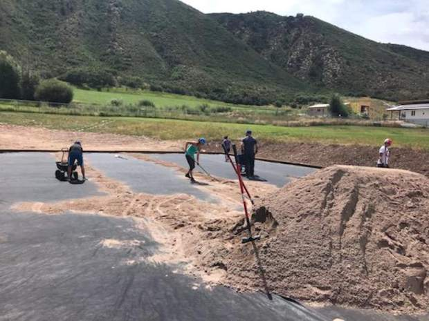 Community donations lead to new Basalt High shot put area, allowing for home meet
