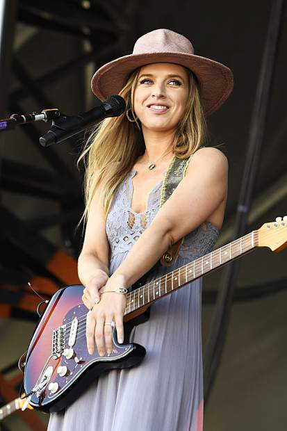 ZZ Ward plays at the JAS Labor Day Experience in Snowmass Village on Saturday, Aug. 31, 2019.