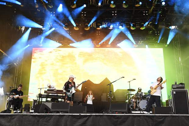 Portugal. The Man hit the stage Friday night in Snowmass Village on opening day of the JAS Labor Day Experience.