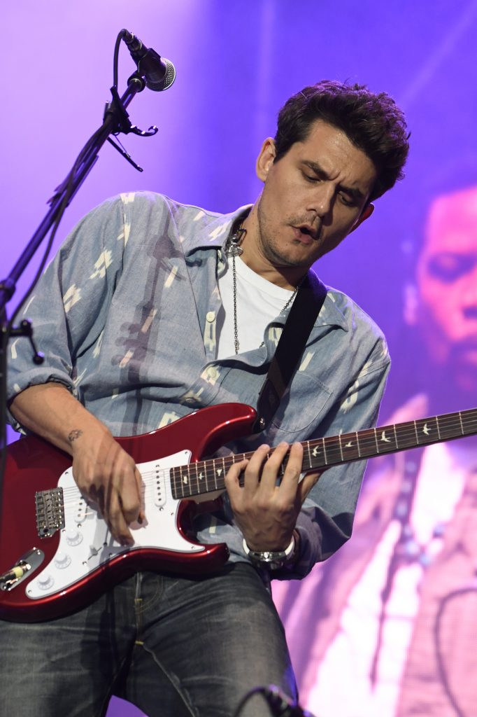 John Mayer performing Saturday night at the Jazz Aspen Snowmass Labor Day Experience in Snowmass Town Park. Lynn Goldsmith photo