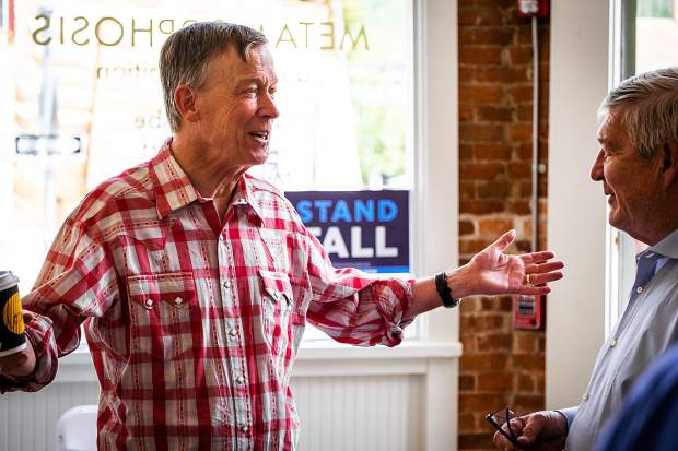 Hickenlooper to stump in Aspen on Sept. 24