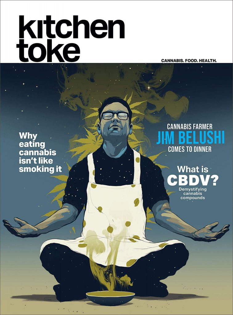 Kitchen Toke's Winter Issue sits down for dinner with actor and cannabis farmer Jim Belushi.